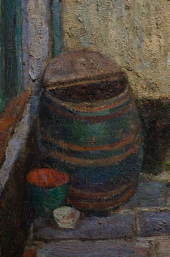Emmanuel-Vierin-Gezicht-op-het-begijnhof-(detail)00- Broelmuseum-Kortrijk