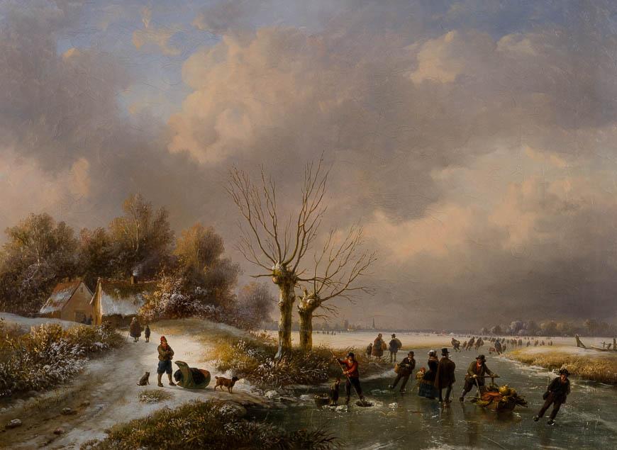 Louis-Pierre Verwee - Ijsgenoegens - Broelmuseum