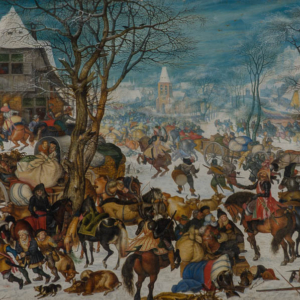 Savery Roelandt - Plundering van een dorp - Broelmuseum