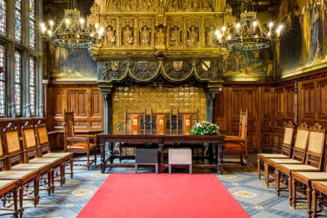 Interieurfotografie stadhuis Kortrijk