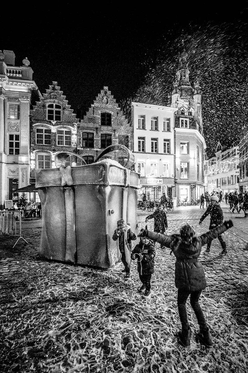 Backcover stadsmagazine Kortrijk