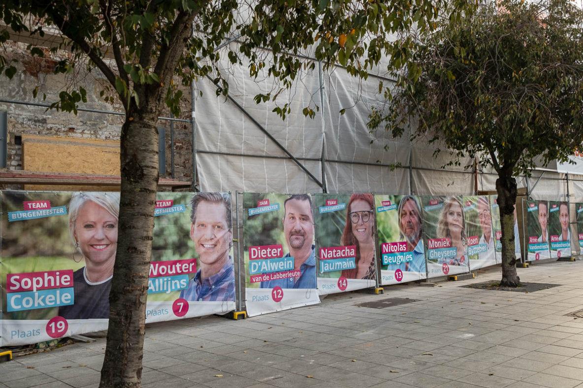 Kattoo verkiezingsfotografie Kortrijk